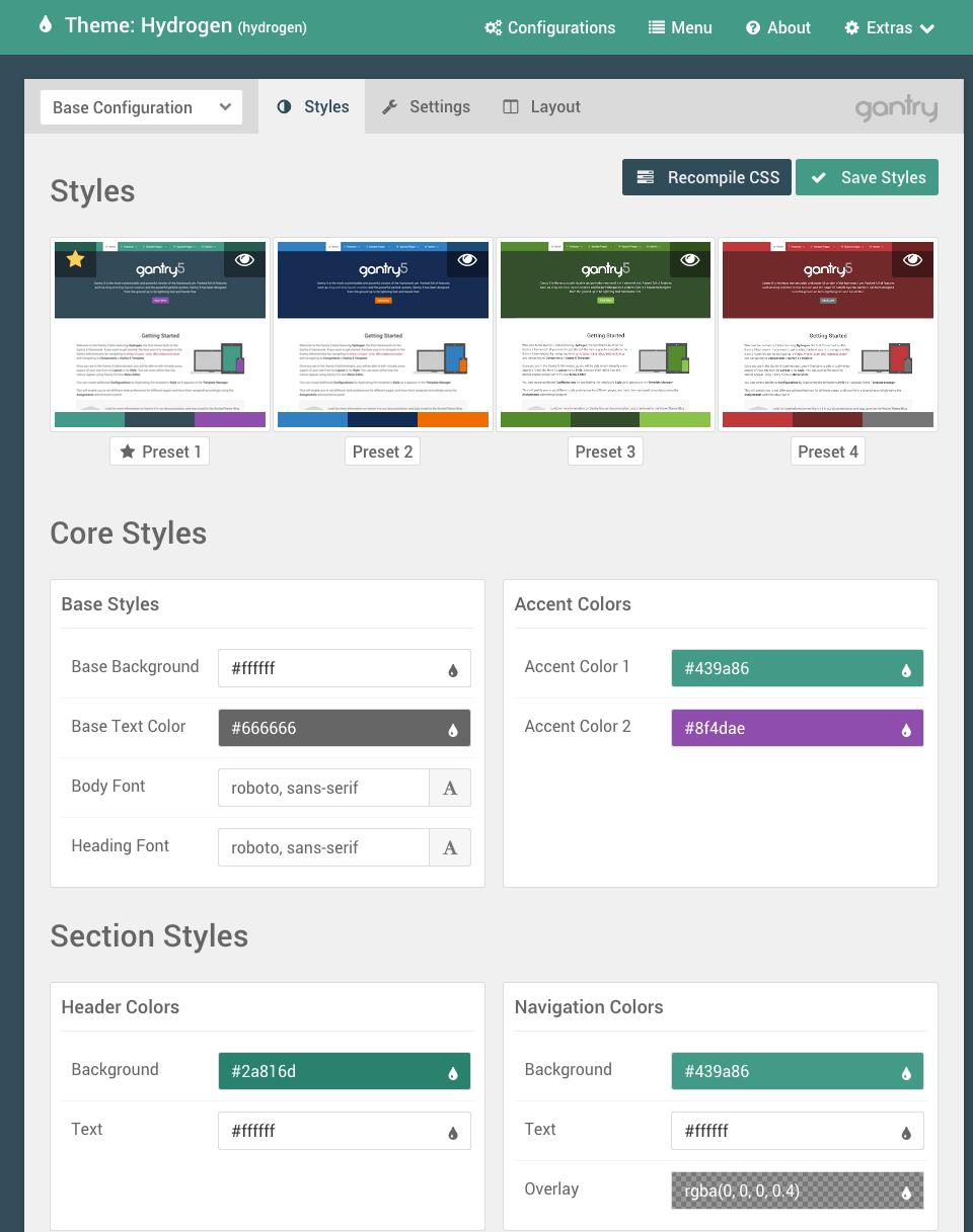 free wordpress theme framework gantry