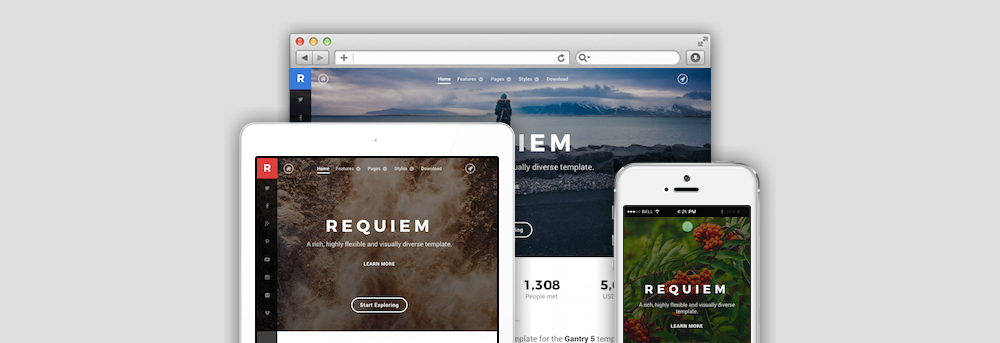 Save 50% on Premium Gantry-powered Themes from RocketTheme | Gantry